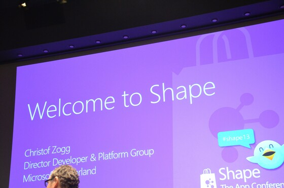 2013-04-09 Microsoft Shape 2013 Baden - 001