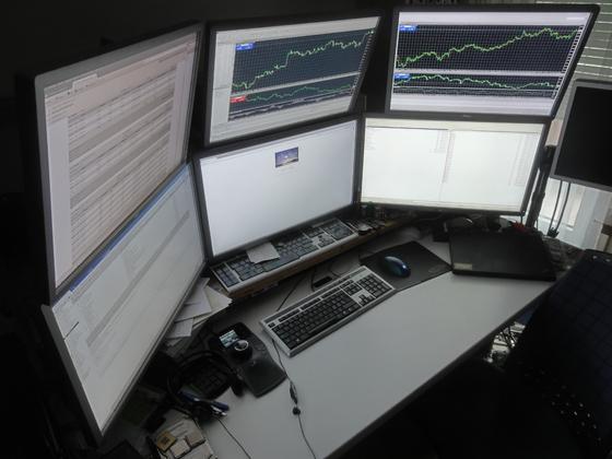 Hex-Screen Arbeitsplatz