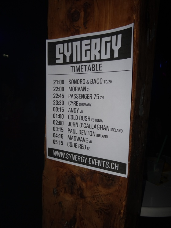 Synergy @ Alte Kaserne feat. John O'Callaghan - 011