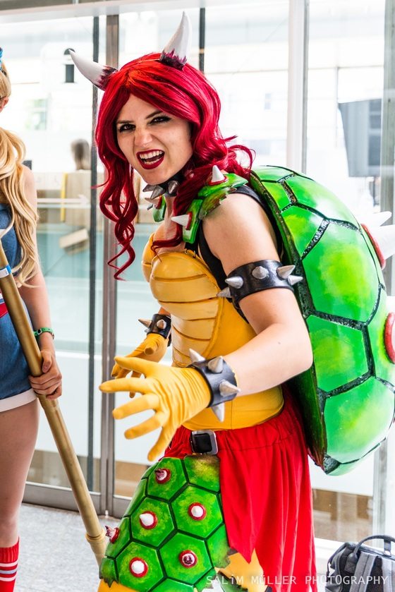 Zürich Game Show 2018 - coline_cosplay - female bowser - 001