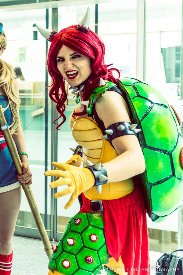 Zürich Game Show 2018 - coline_cosplay - female bowser - 002