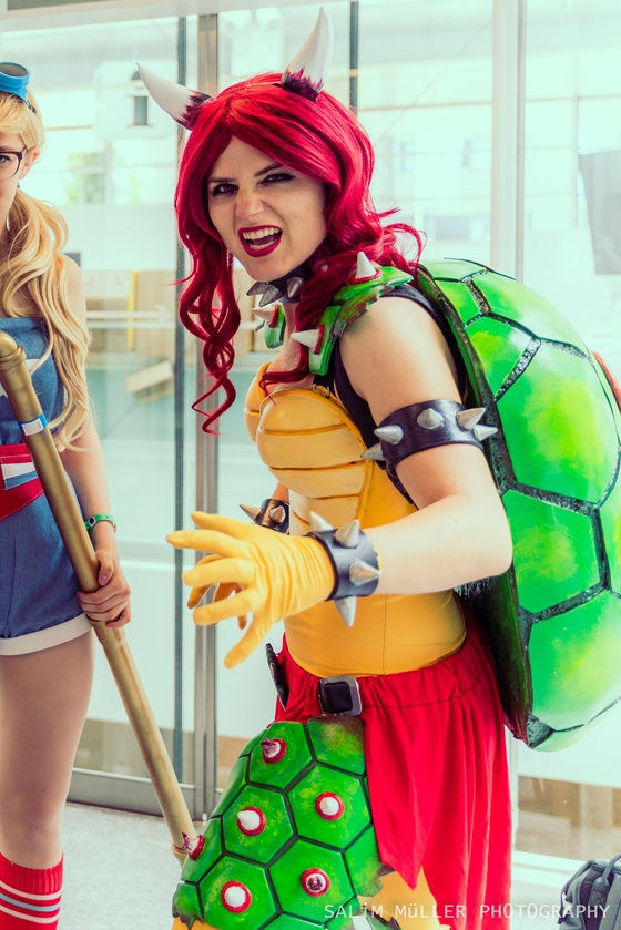 Zürich Game Show 2018 - coline_cosplay - female bowser - 003