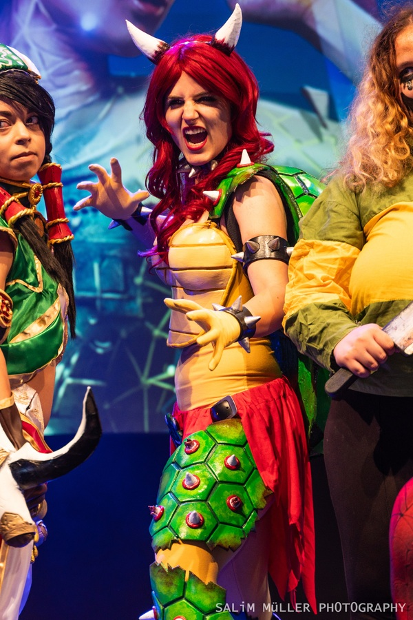 Zürich Game Show 2018 - coline_cosplay - female bowser - 011