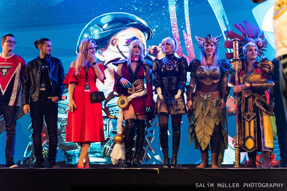 Zürich Game Show 2018 - Cosplay Tag 1 - 005