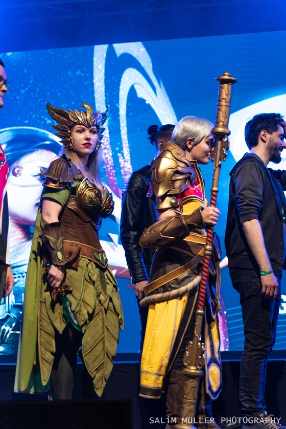 Zürich Game Show 2018 - Cosplay Tag 1 - 012