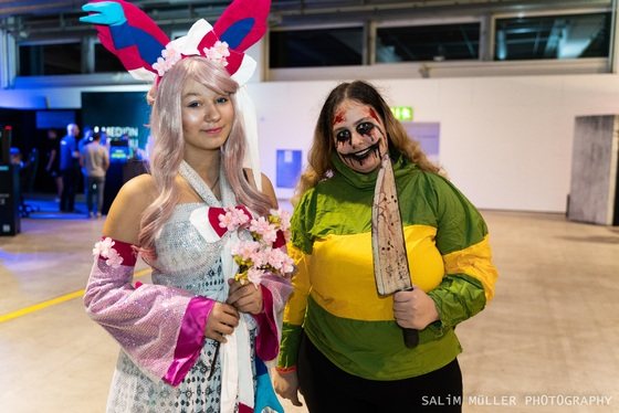 Zürich Game Show 2018 - Cosplay Tag 1 - 017