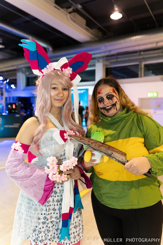 Zürich Game Show 2018 - Cosplay Tag 1 - 019