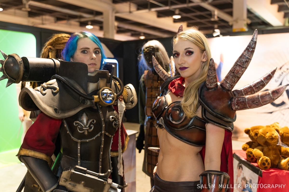 Zürich Game Show 2018 - Cosplay Tag 1 - 057