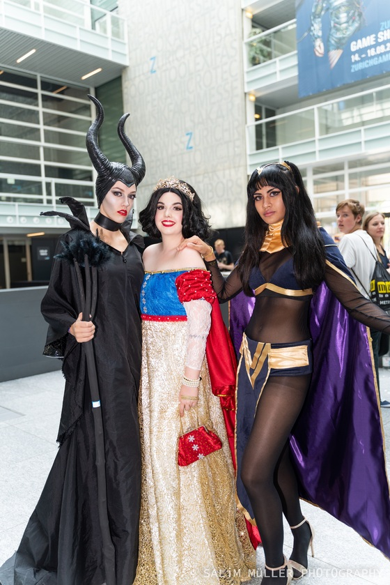 Zürich Game Show 2018 - Cosplay Tag 3 - 017