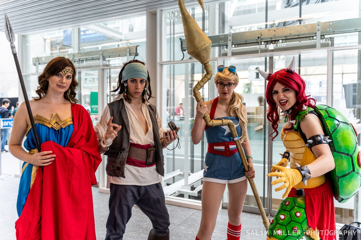 Zürich Game Show 2018 - Cosplay Tag 3 - 036