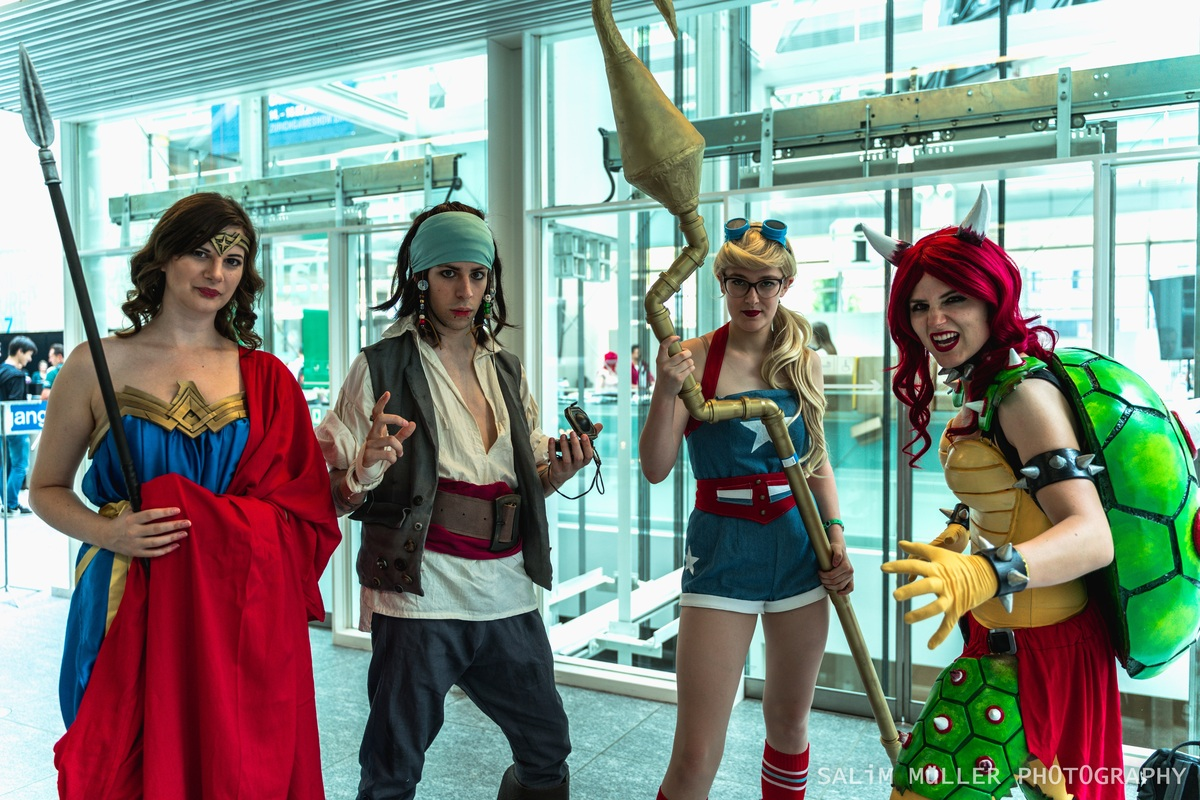 Zürich Game Show 2018 - Cosplay Tag 3 - 037