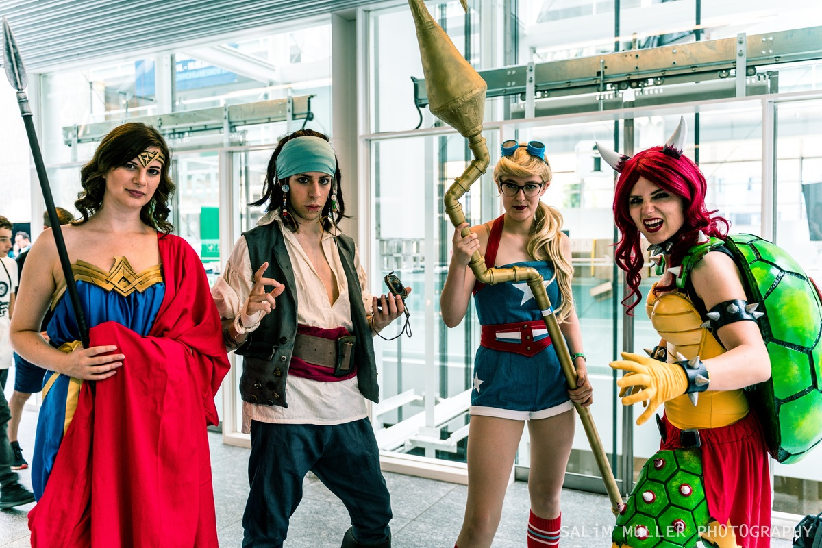 Zürich Game Show 2018 - Cosplay Tag 3 - 038