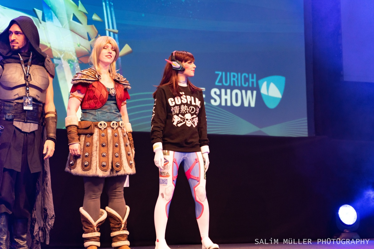 Zürich Game Show 2018 - Cosplay Tag 3 - 108
