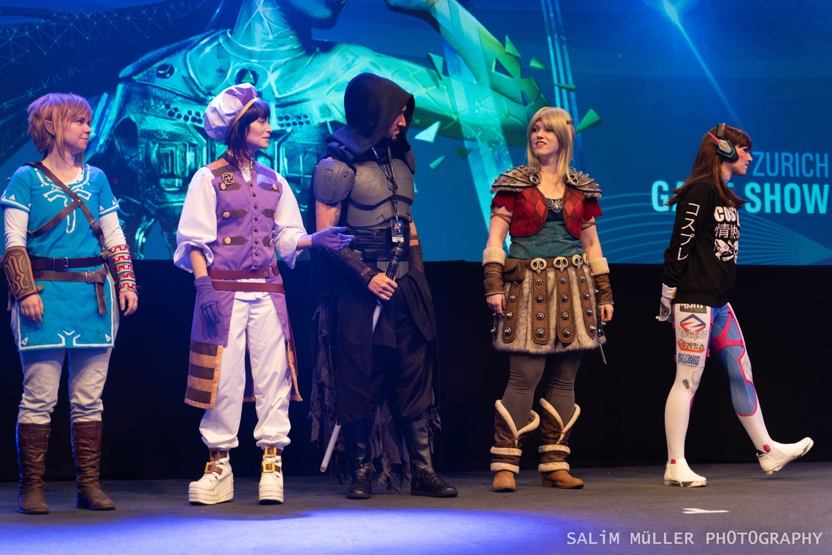 Zürich Game Show 2018 - Cosplay Tag 3 - 113