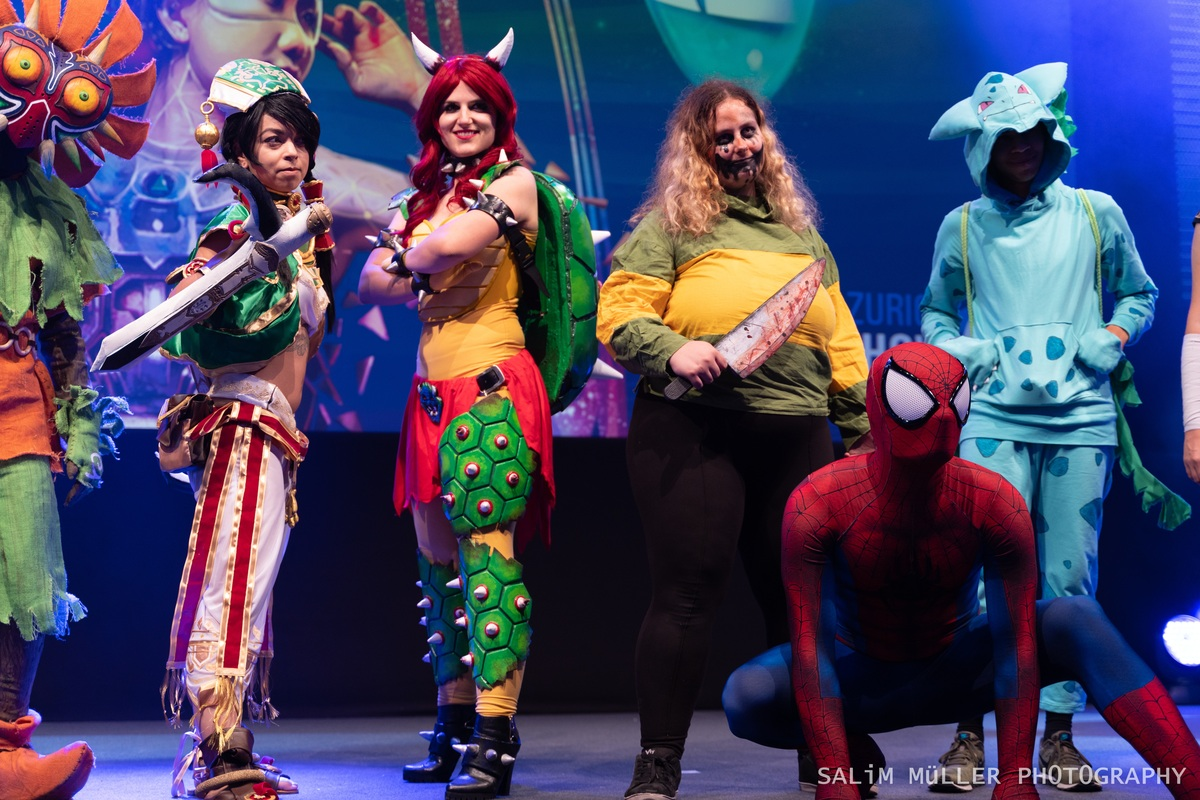 Zürich Game Show 2018 - Cosplay Tag 3 - 177