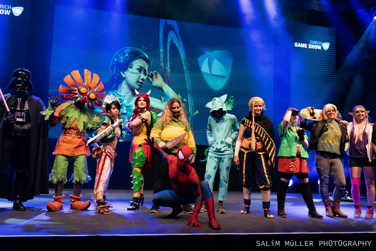 Zürich Game Show 2018 - Cosplay Tag 3 - 180