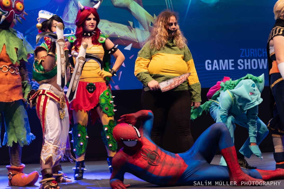 Zürich Game Show 2018 - Cosplay Tag 3 - 185