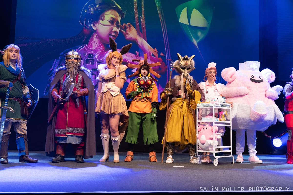 Zürich Game Show 2018 - Cosplay Tag 3 - 190