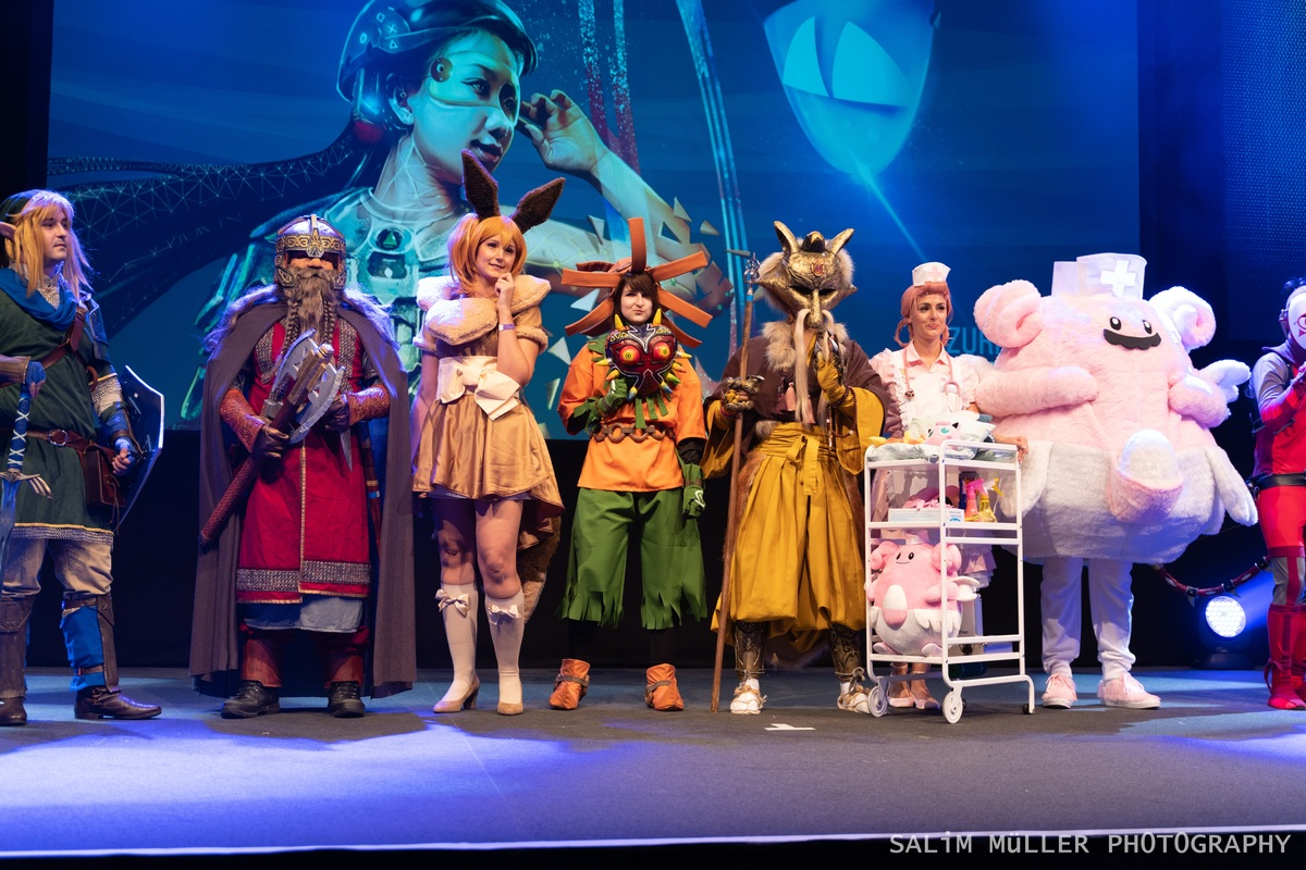 Zürich Game Show 2018 - Cosplay Tag 3 - 191