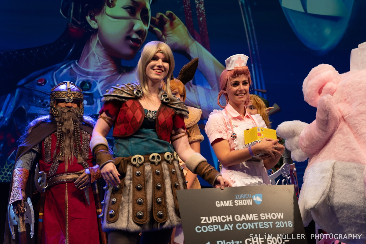 Zürich Game Show 2018 - Cosplay Tag 3 - 199