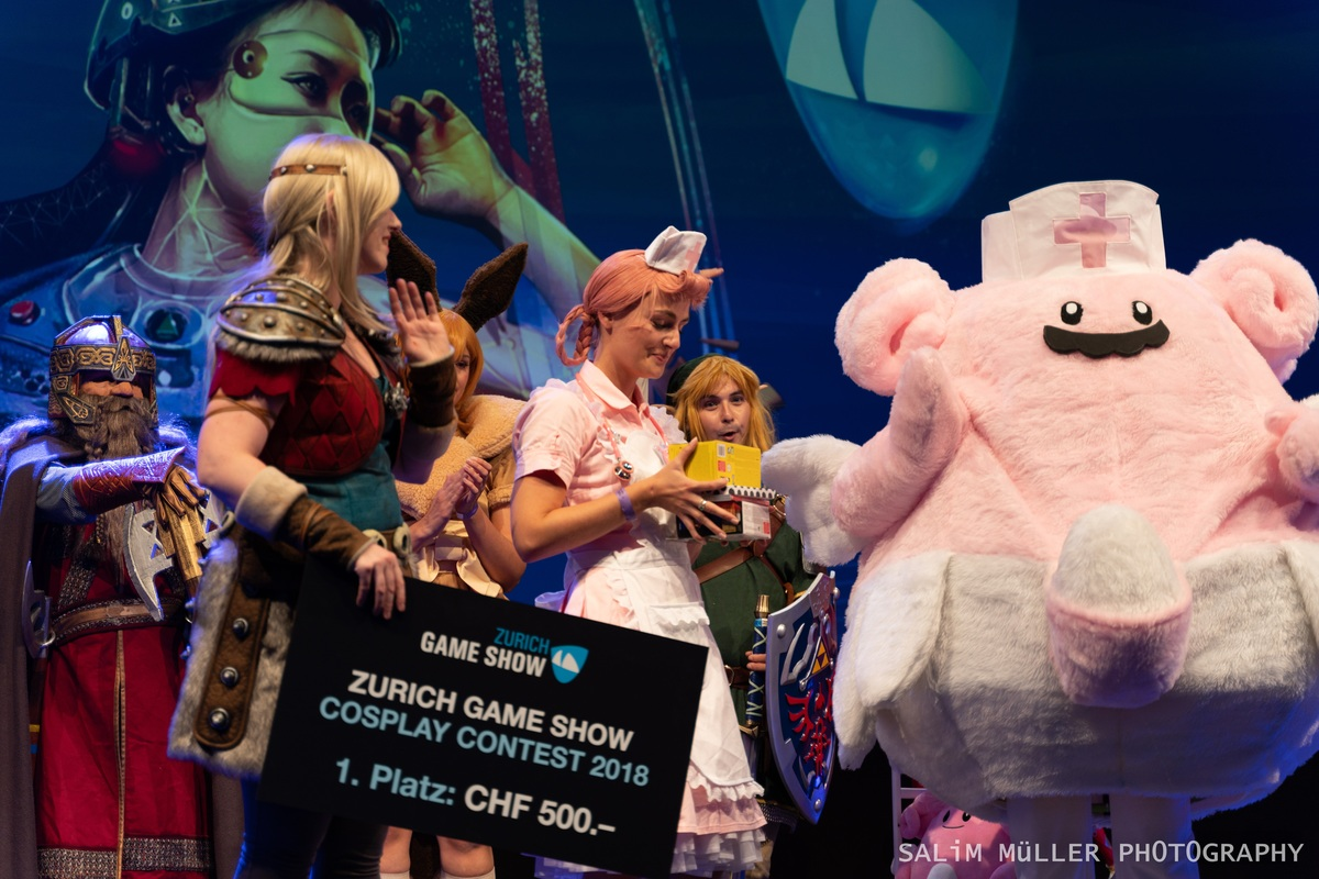 Zürich Game Show 2018 - Cosplay Tag 3 - 201