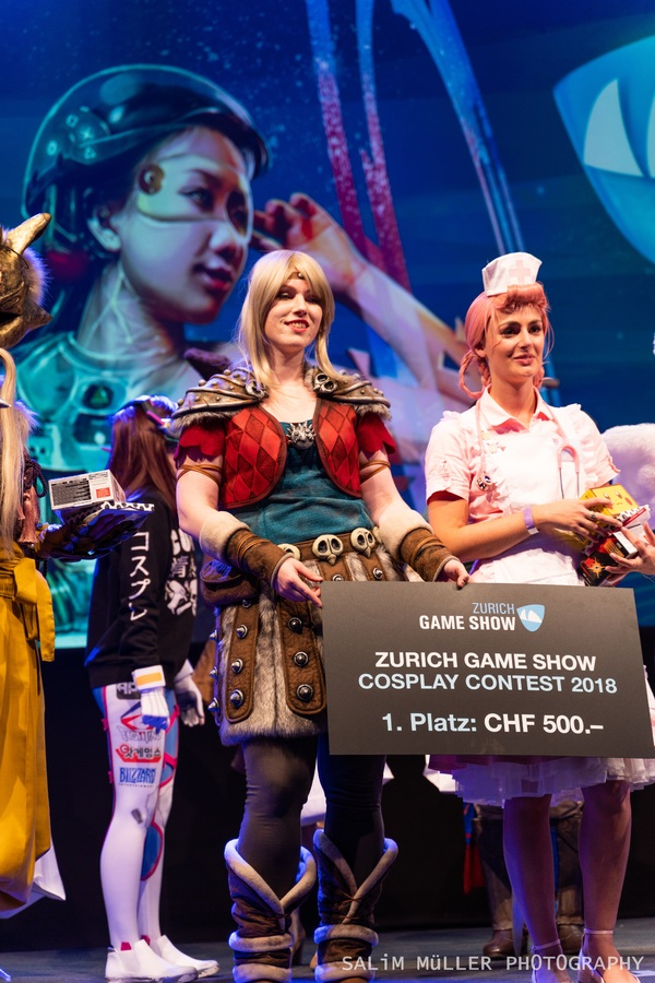 Zürich Game Show 2018 - Cosplay Tag 3 - 206
