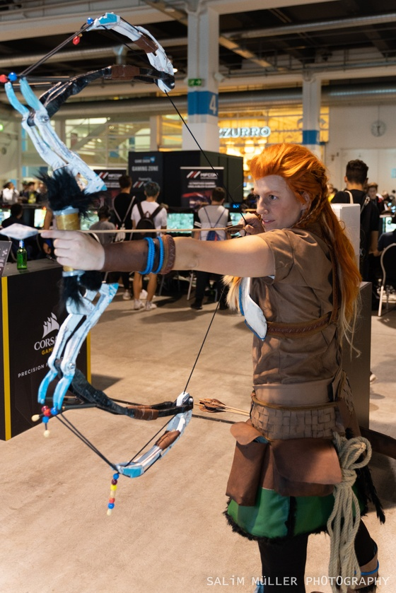 Zürich Game Show 2018 - Cosplay Tag 2 - 001