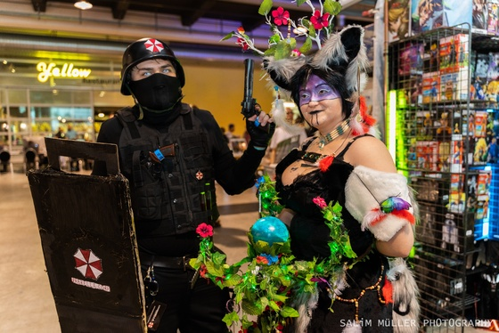 Zürich Game Show 2018 - Cosplay Tag 2 - 010