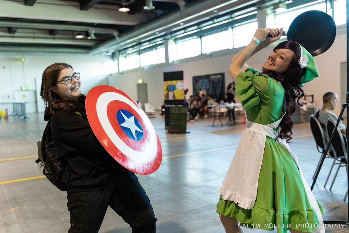 Zürich Game Show 2018 - Cosplay Tag 2 - 049
