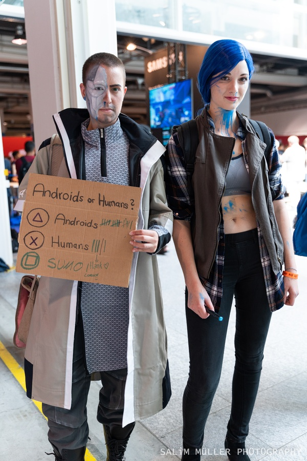 Zürich Game Show 2018 - Cosplay Tag 2 - 101