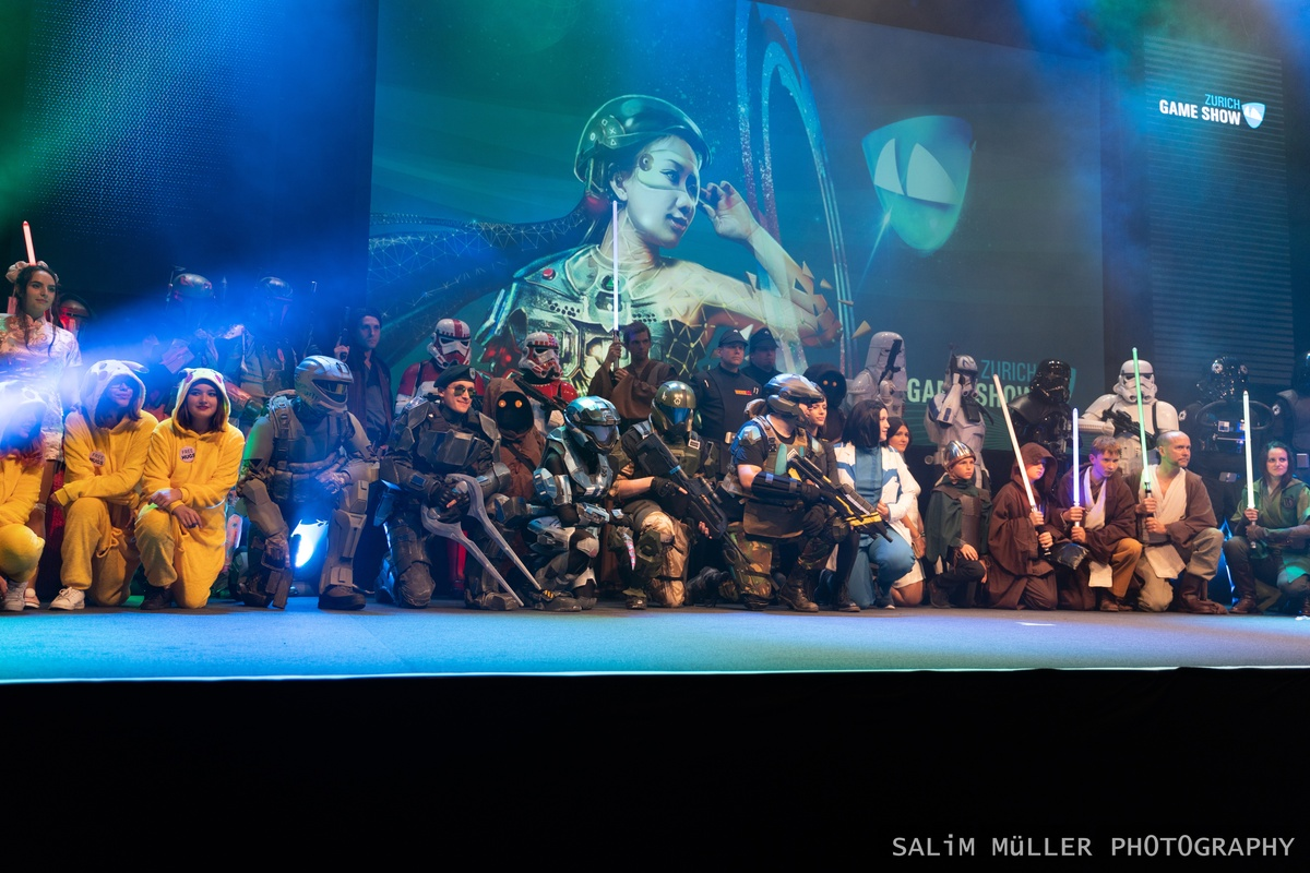 Zürich Game Show 2018 - Cosplay Tag 2 - 137