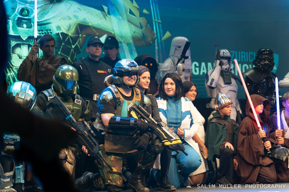 Zürich Game Show 2018 - Cosplay Tag 2 - 145