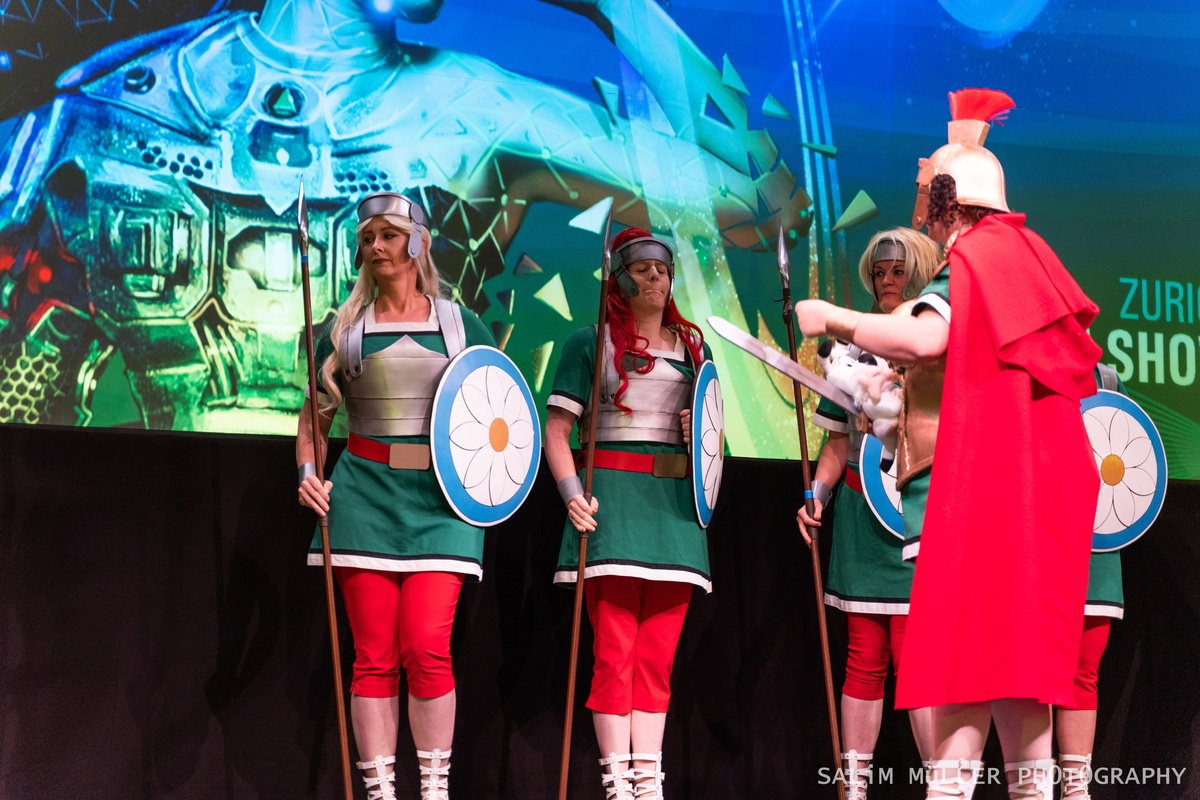 Zürich Game Show 2018 - Cosplay Tag 2 - 181
