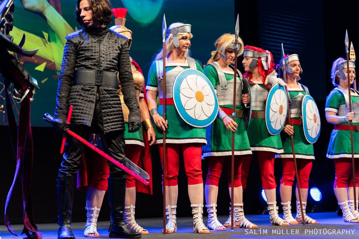 Zürich Game Show 2018 - Cosplay Tag 2 - 228