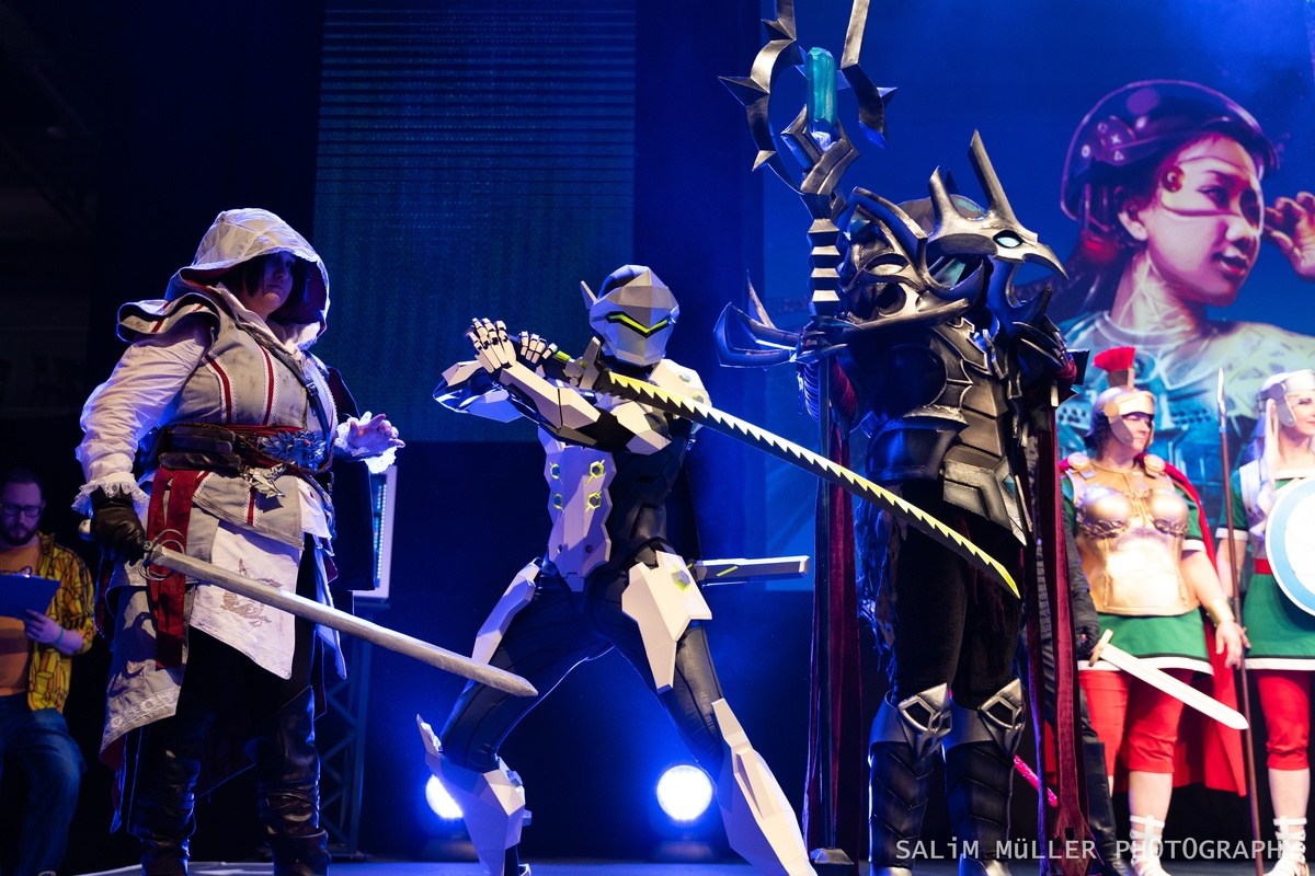 Zürich Game Show 2018 - Cosplay Tag 2 - 239