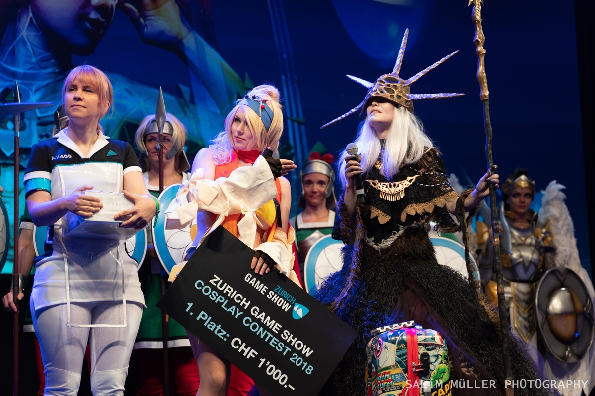 Zürich Game Show 2018 - Cosplay Tag 2 - 252