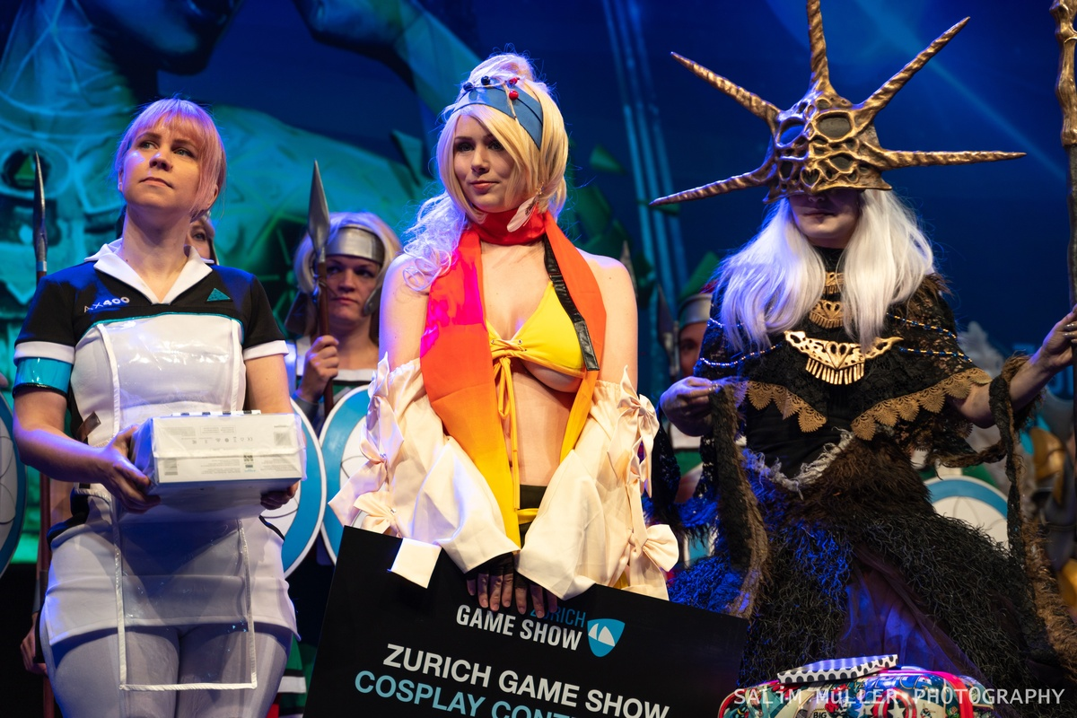 Zürich Game Show 2018 - Cosplay Tag 2 - 259