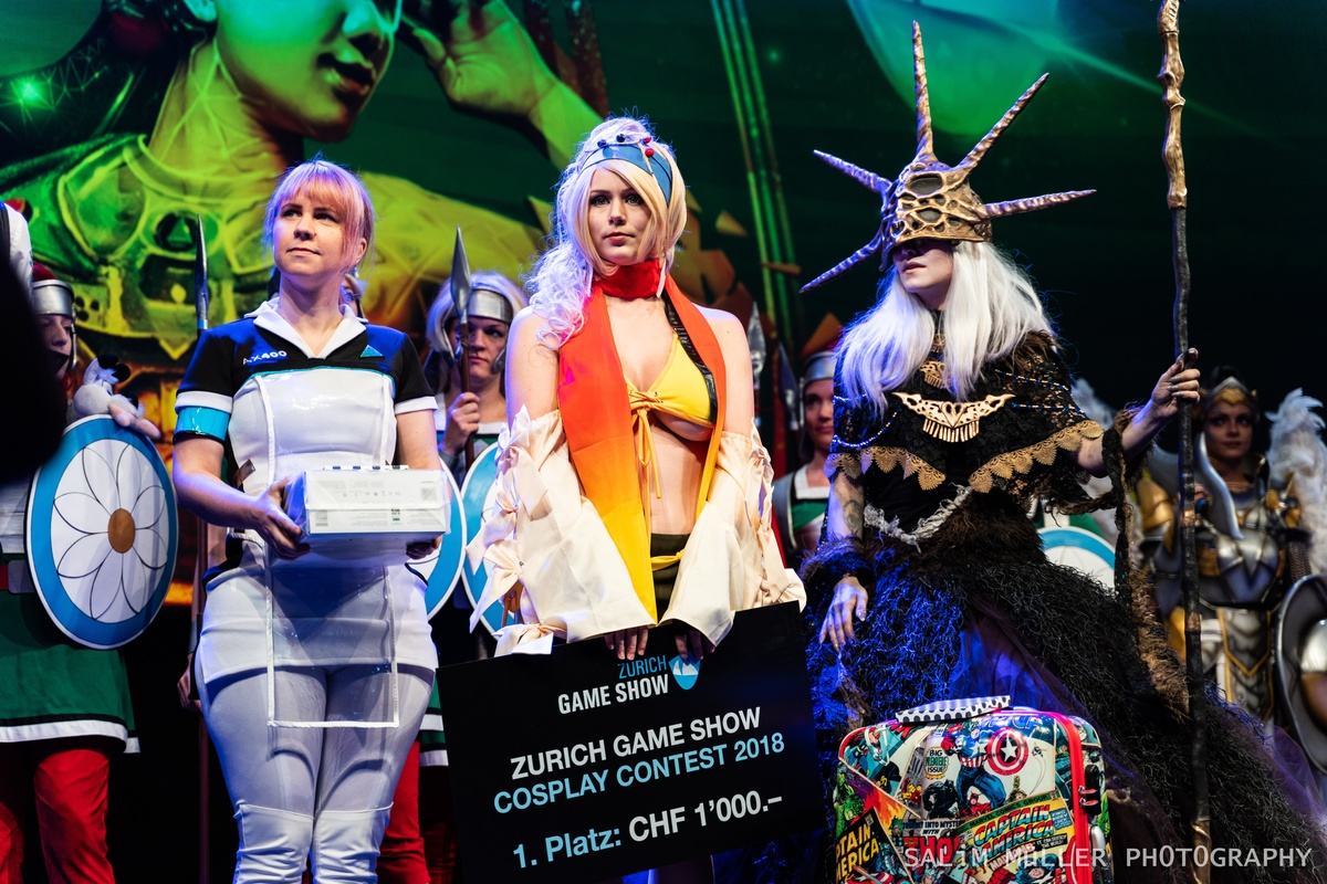 Zürich Game Show 2018 - Cosplay Tag 2 - 260