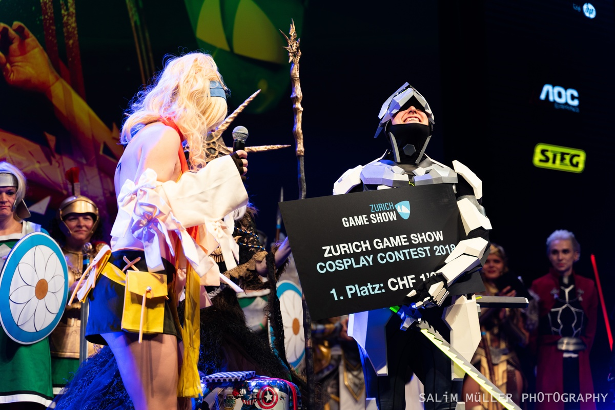 Zürich Game Show 2018 - Cosplay Tag 2 - 266