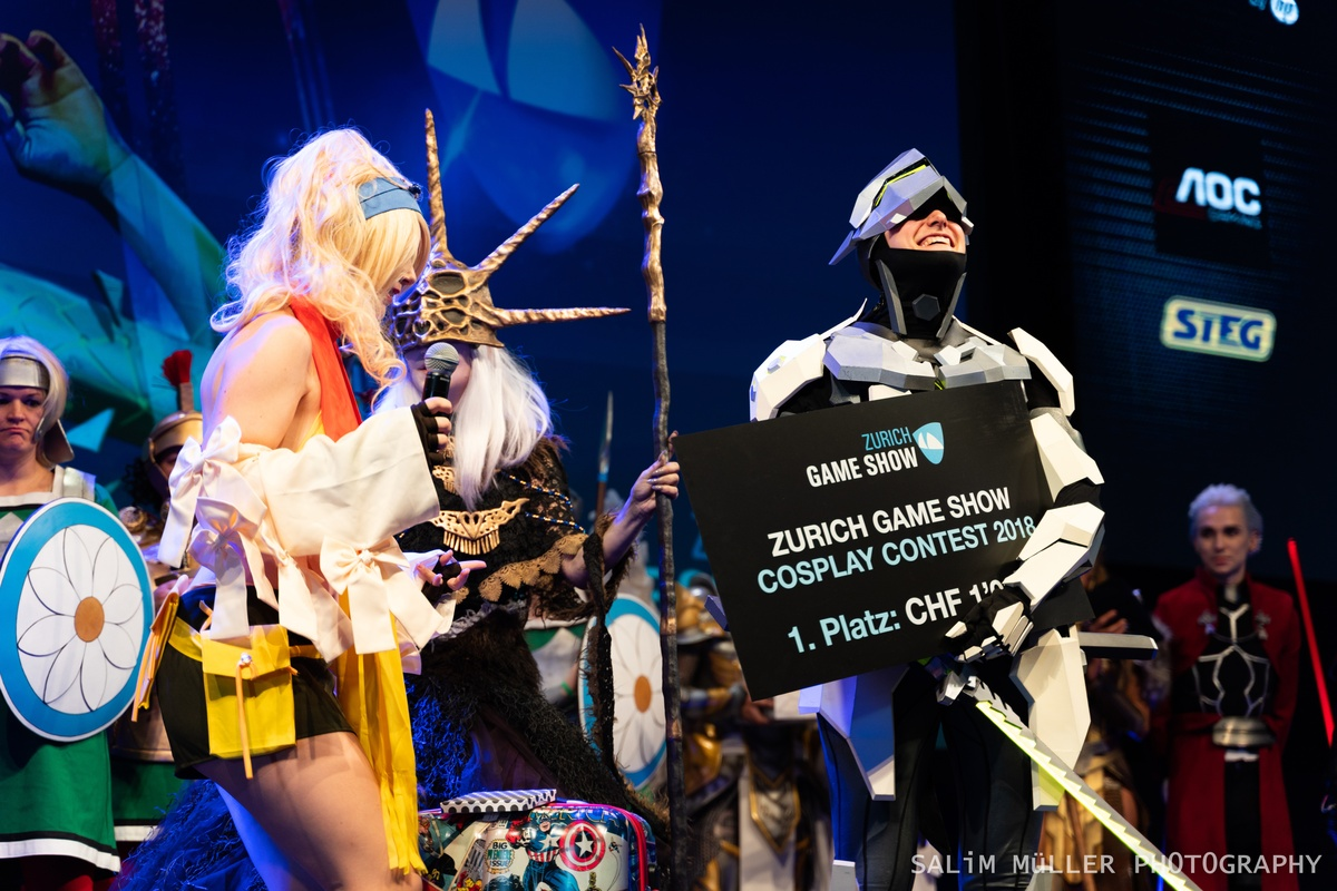 Zürich Game Show 2018 - Cosplay Tag 2 - 267