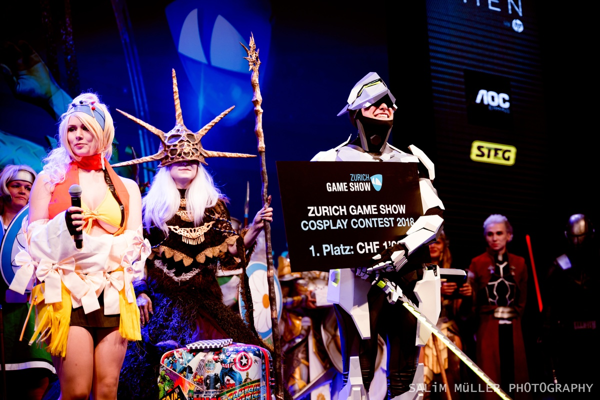 Zürich Game Show 2018 - Cosplay Tag 2 - 270