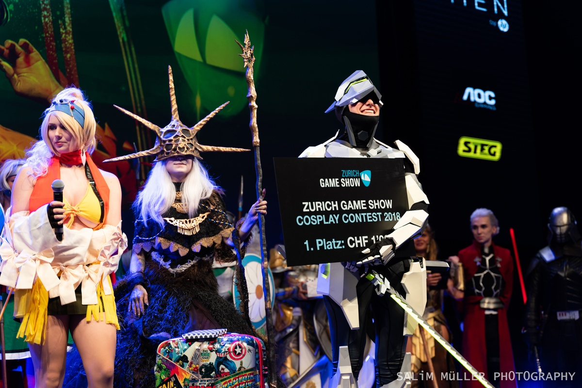 Zürich Game Show 2018 - Cosplay Tag 2 - 271