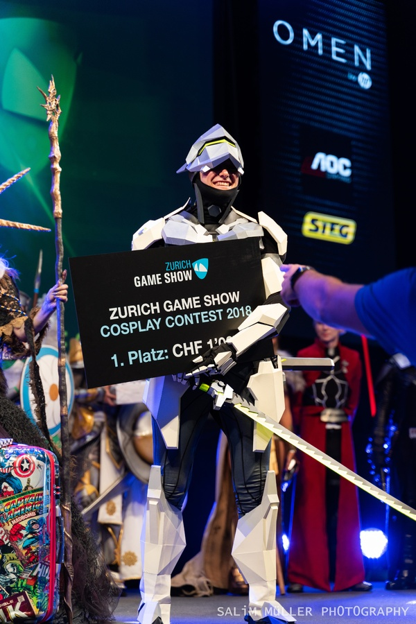 Zürich Game Show 2018 - Cosplay Tag 2 - 272