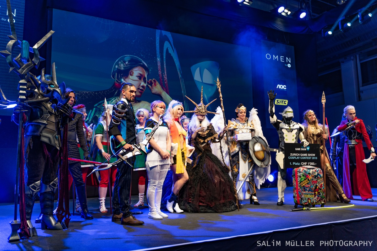 Zürich Game Show 2018 - Cosplay Tag 2 - 282