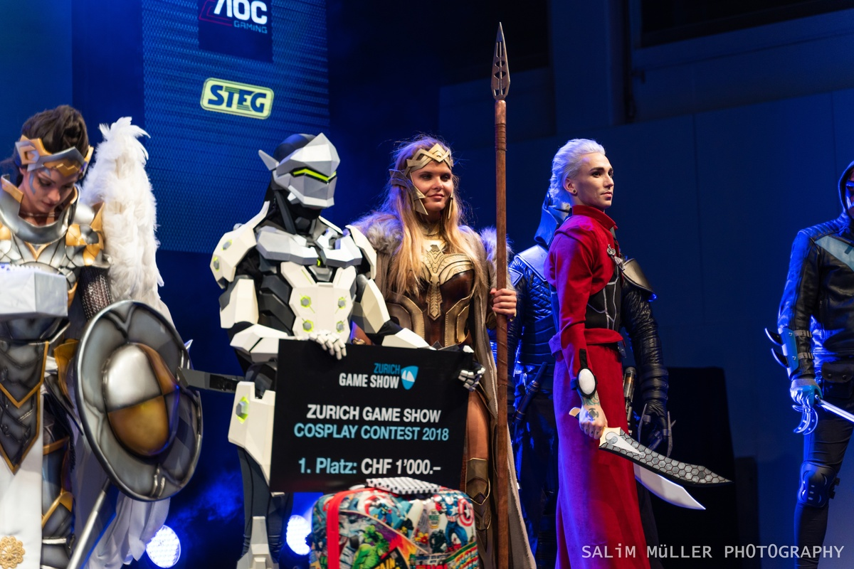 Zürich Game Show 2018 - Cosplay Tag 2 - 285