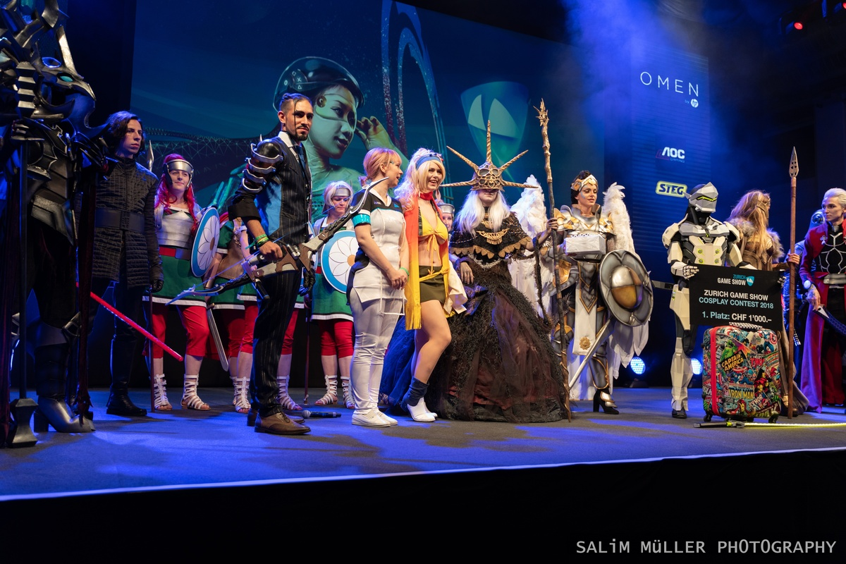Zürich Game Show 2018 - Cosplay Tag 2 - 288