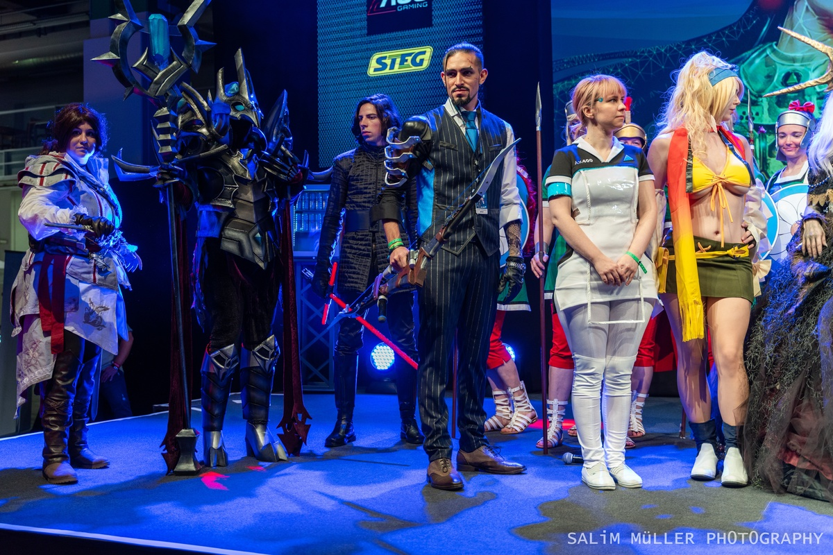 Zürich Game Show 2018 - Cosplay Tag 2 - 291