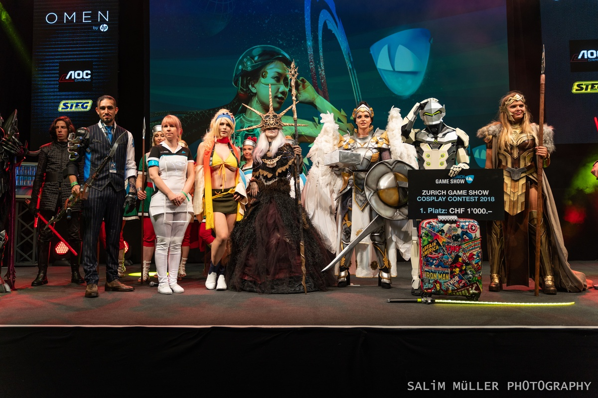 Zürich Game Show 2018 - Cosplay Tag 2 - 293