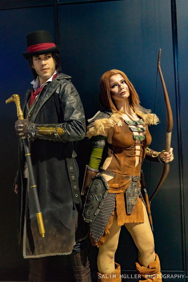 Zürich Game Show 2018 - Cosplay Tag 2 - 299