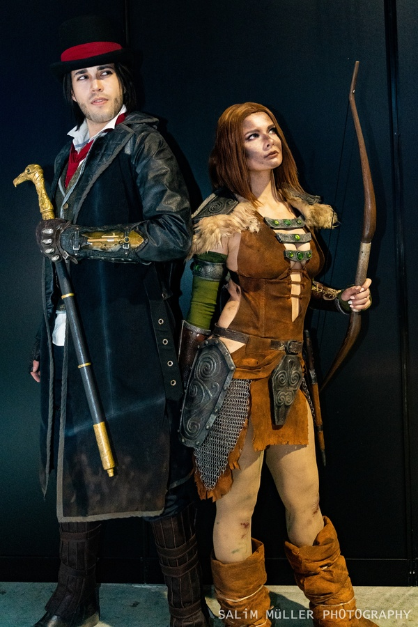 Zürich Game Show 2018 - Cosplay Tag 2 - 300
